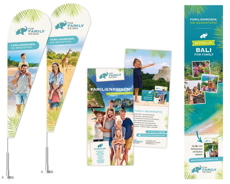 Gestaltung und Design von Werbemitten